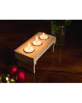 IVEI Candles Folding Table