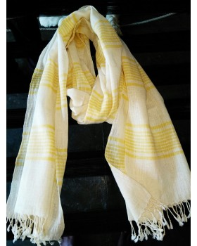 Kala cotton and khadi cotton stole.