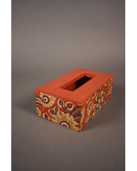 Tissue Box with KK fabric