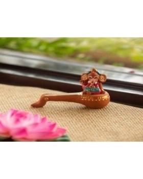 Small Ganesha with Veena