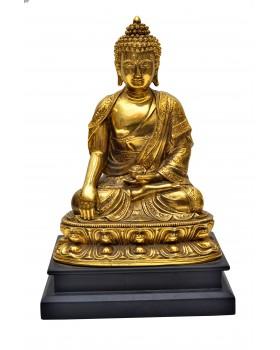 Lord Buddha Handicraft Idol God Gautam Buddha Statue  Feng Shui Decorative Spiritual Puja Vastu Showpiece Figurine - Religious Gift item & Murti for Mandir / Temple / Home Decor/office